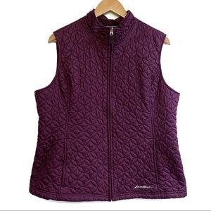 Eddie Bauer Quilted Lightweight Vest | Purple | XL
